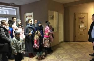 Діти привітали АРТ зі святами!